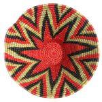Medium Woven Basket - tangarine