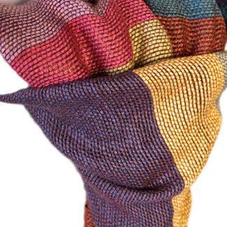 Tsandza Weaving Bamboo Scarves
