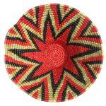 Small Woven Baskets - tangarine